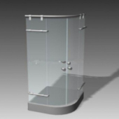 Shower Glass Box Free 3dmax Model
