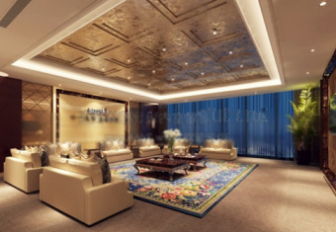 Luxury Living Room Interior 3D Scene