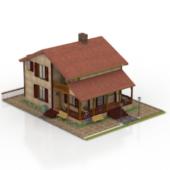 Free 3dmax Model Modern Villa