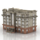 Continental Building Free 3dMax Model