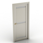 European White Doors  Free 3dmax Model