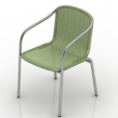 Green Chair Free 3dmax Model