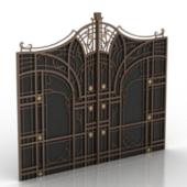 Vintage Continental Door