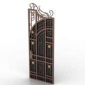 European Classic Door Free 3d Max Model