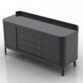 Black Wood Atmospheric Desk