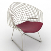 Single Grid Chair Free 3dmax Model