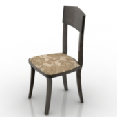 Old Single Chair Free 3d Model