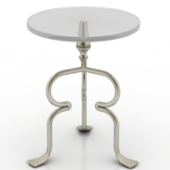 Classic Glass Table