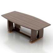 Highpoly Wooden Table Free 3d Model
