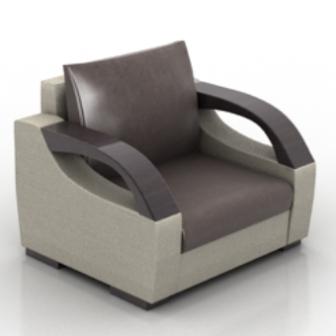 Comfortable Sofa Free 3d Model