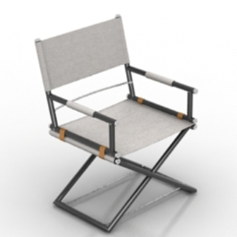 Simple Bracket Chair Free 3d Model