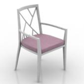 Boudoir Single Chair Free 3dmax Model