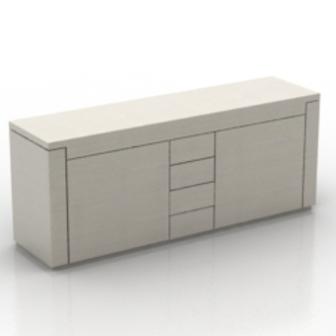 White Fashion Desk