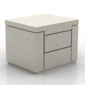 Wooden Bedside Cabinet Model