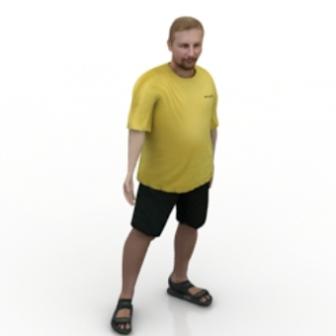Men Wear Summer