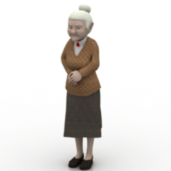 Foreign Granny