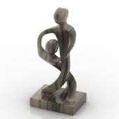 3d Sculpture Free 3D Model