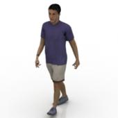 3d Man Model Free