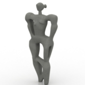 Abstract Statue Free 3d Models