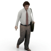 Business Man Free 3D Model