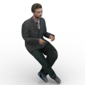 Men In Suits 3D Models