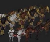 Horses Free 3dmax Models