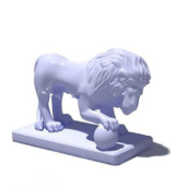 Stone Lions Free 3dmax Model
