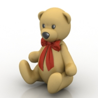 Teddy Bear Free 3D Model