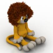 Lion Doll Free 3dmax Model