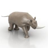 Rhinoceros Sculpture