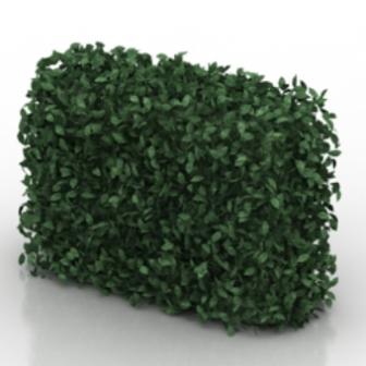 Green Wall Free 3dmax Model