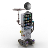 Robot Free 3dmax Model
