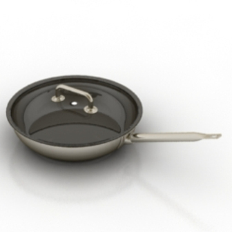 Induction Wok Free 3dmax Model