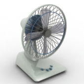 3d Desktop Fan Free 3dmax Model