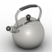 Electric Kettle Free 3dmax Model