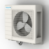 Small Frequency Air Conditioning Free 3dmax Model
