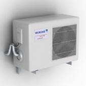 Outdoor Air-conditioning Equipment Free 3dmax Model