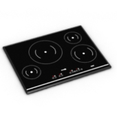 High-end Free 3dmax Model Gas Stove