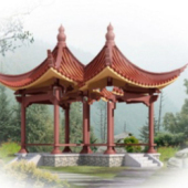 Free 3dmax Model Outdoor Pavilion