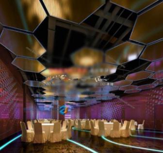 Five Colorful Restaurant Free 3dmax Model