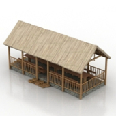 Ancient Chapeng House Free 3dmax Model