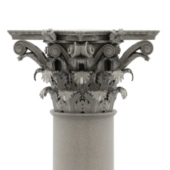 Pillars Of European Architecture Free 3dmax Model