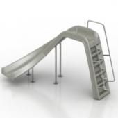 Silver Luxury Free 3dmax Model Slides
