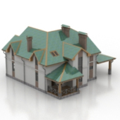 Green Villa Free 3dmax Model