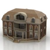 European Manor Free 3dmax Model