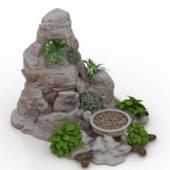 Park Rockery Free 3dmax Model