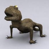Gecko Free 3D Model