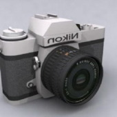 Free 3dmax Model Practical Digital Camera