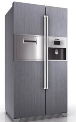 Siemens Side By Side Refrigerator 3dmax Model Free Free Download