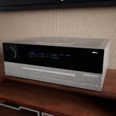 HD Theater Power Amplifier Free 3dmax Model